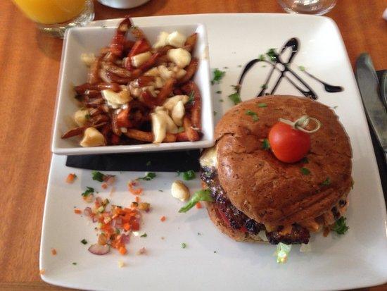 O Bistro : Bison burger