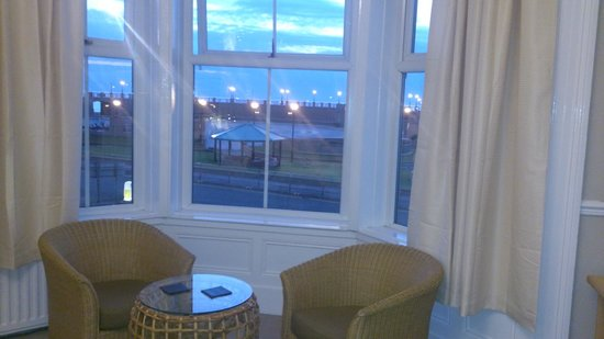 Pier Hotel Rhyl: view was lovely