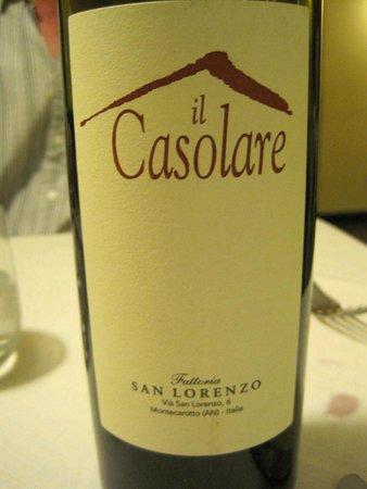 Spirito Divino : Delicious house wine