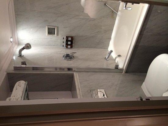 Radisson Blu Edwardian Sussex Hotel: Tiny - Too Small Bathroom