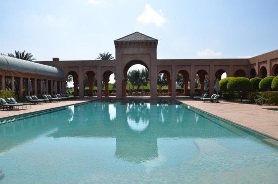 Piscina do Amanjena-Marrakech