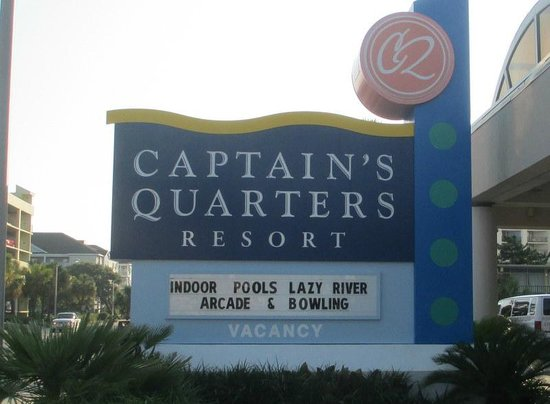 Captains Quarters Resort : A picture leaving my vacation .