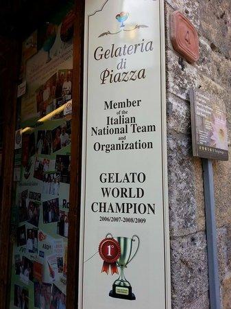 Gelateria Dondoli: Premiações