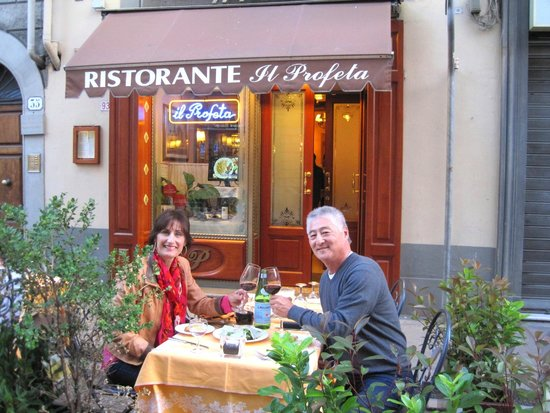 Il Profeta : Our last meal in Florence...a wonderful evening!
