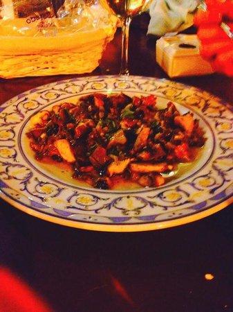 Casa Curro Montoya: Wonderful wild mushrooms