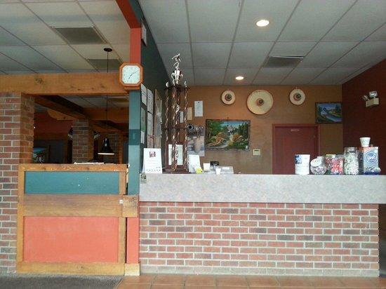 La Cabana Restaurant : Front desk