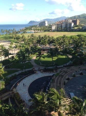 Marriott Ko Olina Beach Club: One view from our room lloking towards Noth Shore