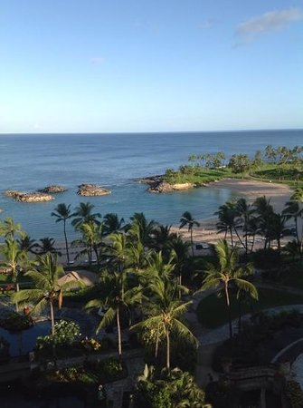 Marriott Ko Olina Beach Club: looking at the Lagoon from our room