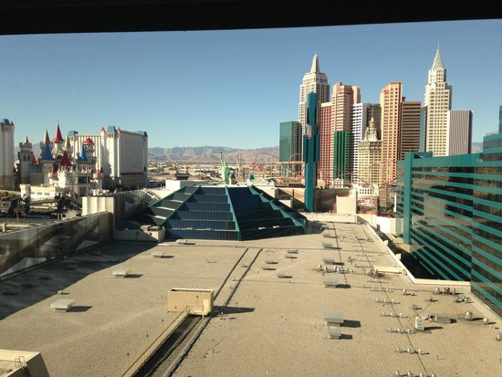 MGM Grand Hotel and Casino : View from our room