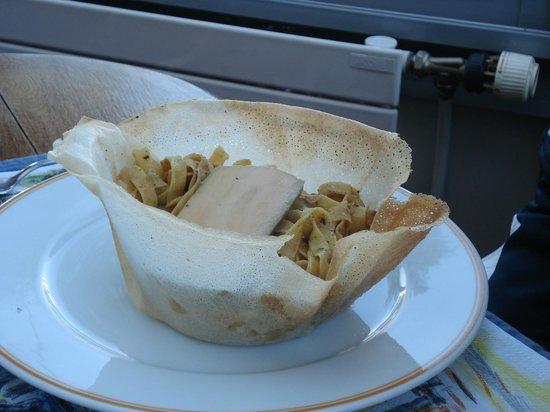 Le Comptoir et la Table : Tagliatelles foie gras