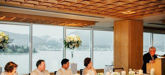 Pan Pacific Vancouver: Cypress Suite - Wedding Reception