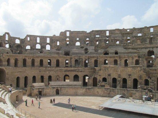 El Mouradi Club Kantaoui : El Djem, Gladiator was filmed here!