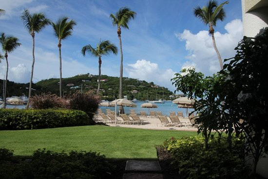 The Westin St. John Resort Villas : View from our Beach Front Room