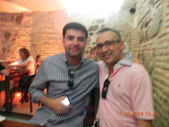 Cerveceria El Trebol : Aqui con mi buen amigo Jose Manuel.