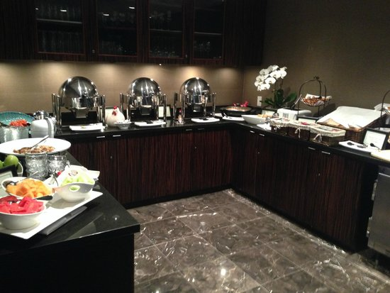 L'Hermitage Hotel: Buffet