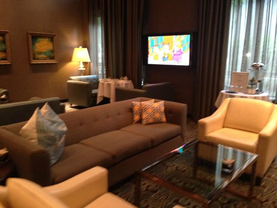 L'Hermitage Hotel: Lounge