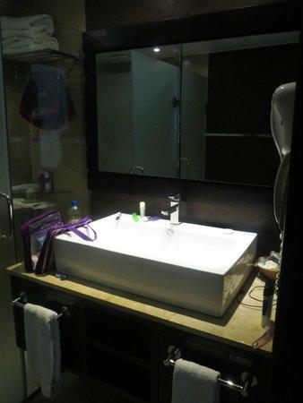 Punta Cana Princess All Suites Resort & Spa: Salle de bain chambre deluxe