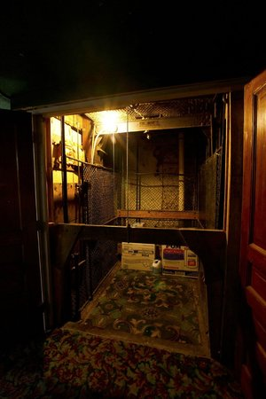 The 1850 Freight Elevator at Deadwood Dick's
