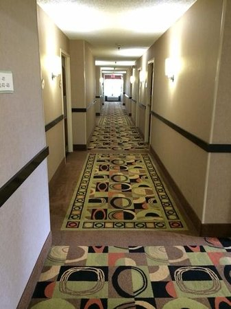 Country Inn & Suites by Radisson, Dalton, GA: 4th floor Hallway