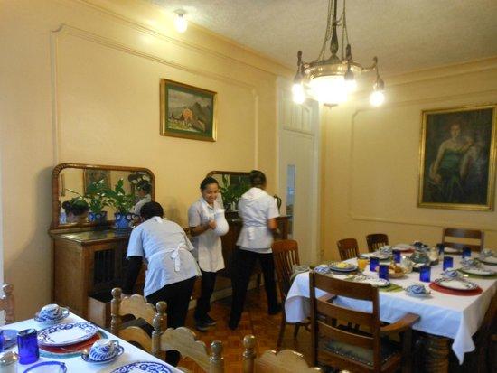 Hotel Casa Gonzalez: Comedor, muy pintoresco