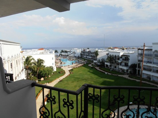 The Royal Playa del Carmen : excelente vista al mar