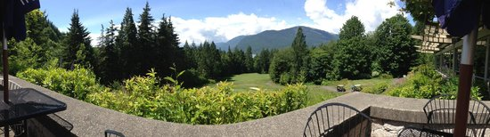 Furry Creek Golf and Country Club: View from table