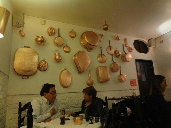 Fonda el Refugio : el restaurant