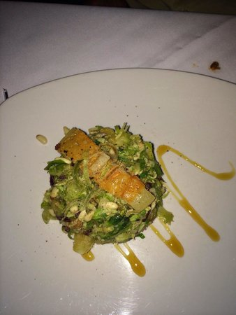 Meridian Restaurant & Bar: Brussel sprout salad- an interesting menagerie of flavors