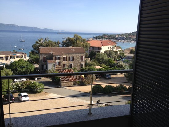 Hôtel Les Eucalyptus : vue de la chambre