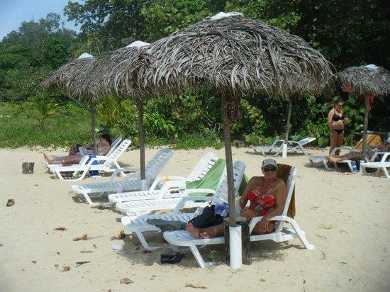 Meeres-Nationalpark Insel Bastimentos (Parque Nacional Marino Isla Bastimentos): las reposeras