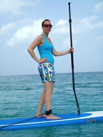 De Lille Sports: SUPing on the clear waters in Cozumel!
