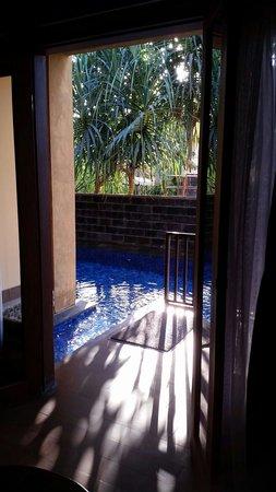Sunset House Lombok : Pool access