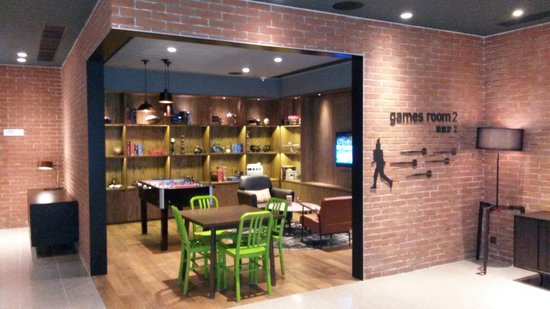 pentahotel Hong Kong, Kowloon: Game room