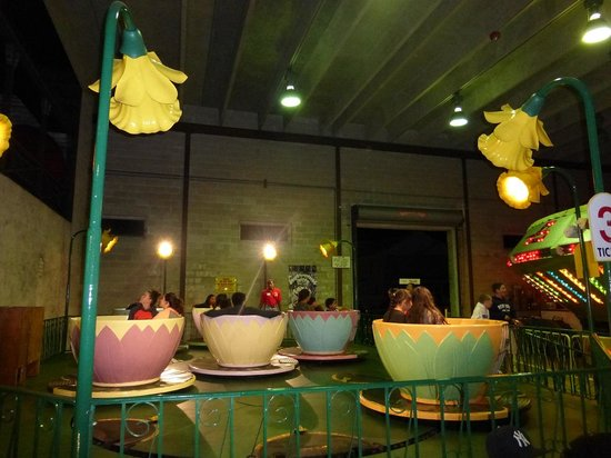 Tea Cups at Funland