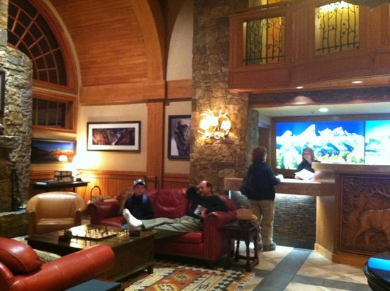 Wyoming Inn of Jackson Hole : Great atmosphere and lodge like feeling but you SURE pay BIG bucks for it!