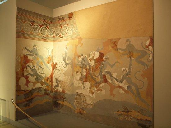 Museum of Prehistoric Thera: Mural from Akrotiri
