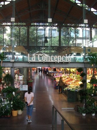 Mercado de la Concepcio Barcelona