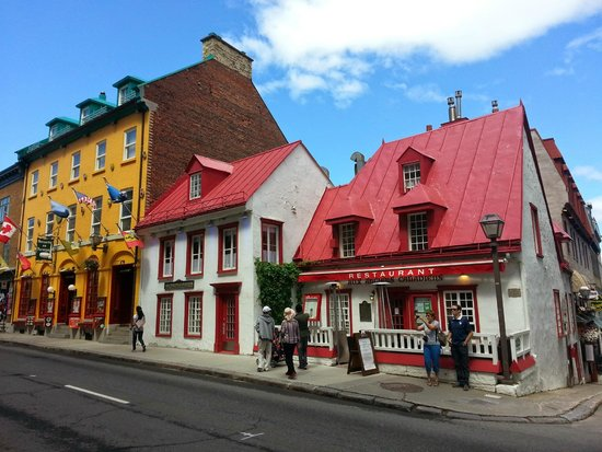 Aux Anciens Canadiens : Oldest house in town