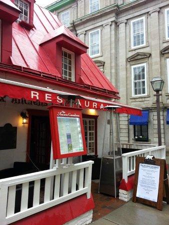 Aux Anciens Canadiens : Very quaint