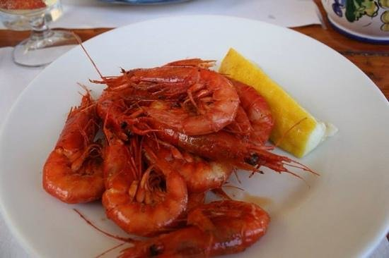 Da Adolfo: delicious!