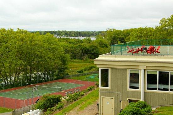 Atlantica Oak Island Resort & Conference Centre: Roof top deck