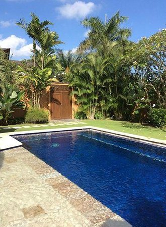 The Kunja Villas & Spa : Private pool in our private villa!