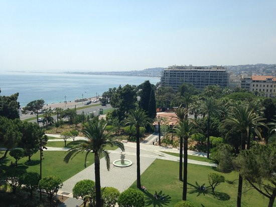 "Hotel Albert 1er : ""Nice"" view"
