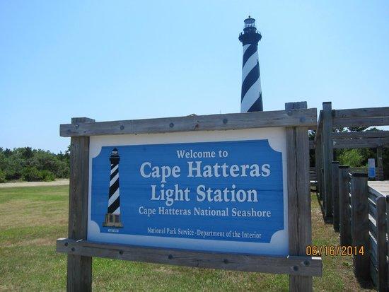 Cape Hatteras Lighthouse: entrance