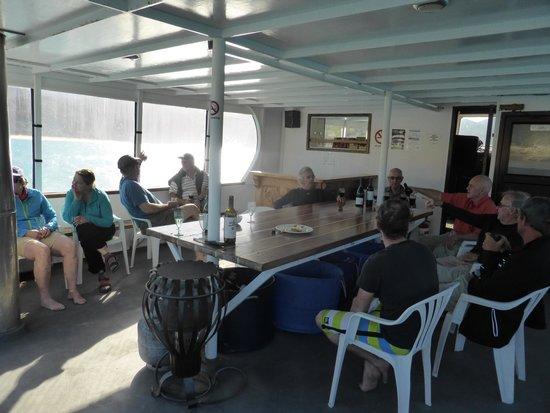 Aquapackers: Happy Hour on the deck. BYOB.