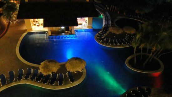 Allegro Papagayo: view from the tower by the pool