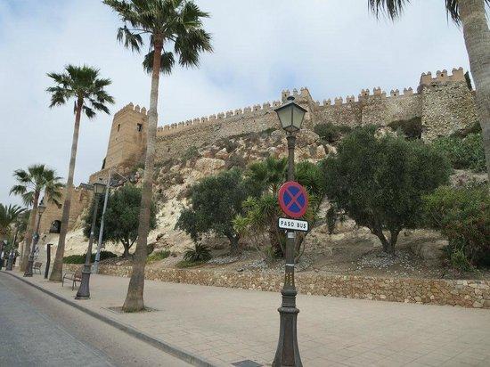 Conjunto Monumental de La Alcazaba: Vista exterior de la Alcazaba