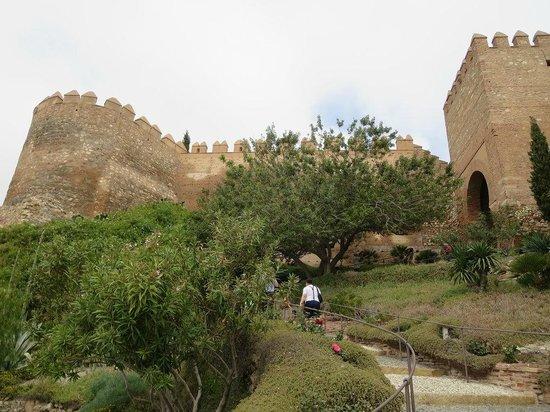 Conjunto Monumental de La Alcazaba: Vista de la Alcazaba