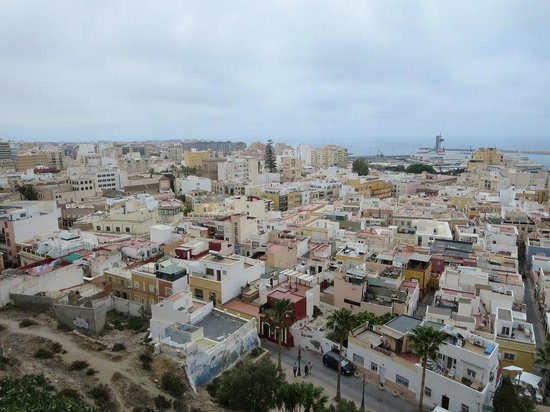 Conjunto Monumental de La Alcazaba: Panorámica de Almería desde la Alcazaba