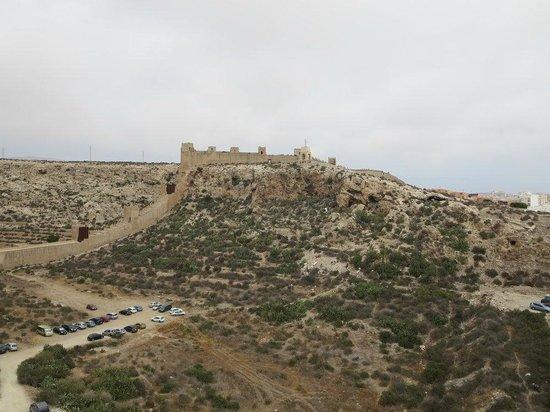 Conjunto Monumental de La Alcazaba: Vista parcial de la Alcazaba
